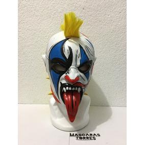 Psycho Clown Payaso 2 Caras Semi Profesional Envio Gratis