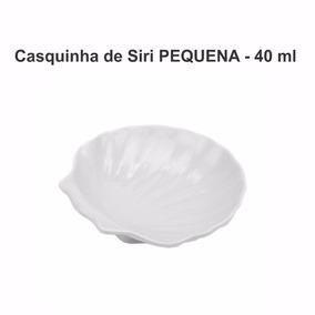 30 Conchas Casquinha De Siri Pequena 40 Ml Porcelana Ref 275