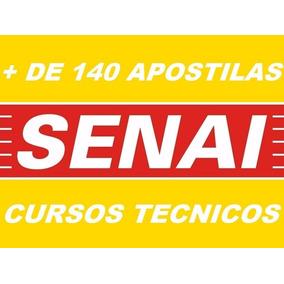 140 Apostilas De Cursos Técnicos Senai Mecânica Eletrônica