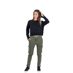 Pantalón Cargo Audrey Green Star Jeans #68518