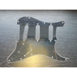 Pickguard Negro Tricapa Para Stratocaster Sss