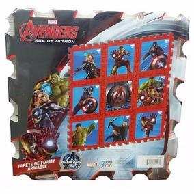 Tapete De Foami Decorativo Avengers Vengadores Envio Gratis!