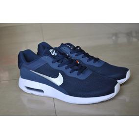 Kp3 Zapatos Nike Air Max Modern Essential Azul Caballeros