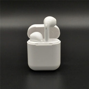Auricular Bluetooth Doble I9x Con Base Cargadora Imantada