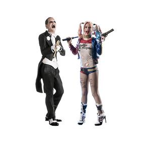 Harley Quinn + Joker - Suicide Squad - Iron Studios