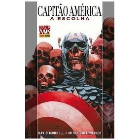 Capitão América - A Escolha Capa Dura Panini