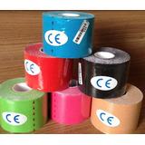 Kinesio Tape Taping Bandagem Elástica 5 Metros X 5 Cm