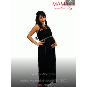 Vestido Largo De Maternidad Para Fiestas Mamma Mia