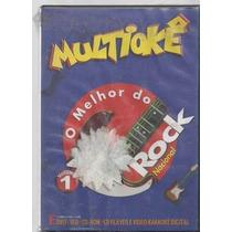 Dvd Multiokê O Melhor Do Rock Nacional, Original