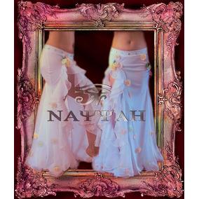 Pollera Petalos Para Danza Arabe -belly Dance-