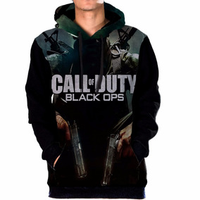 Blusa Moletom Bolso Lateral Call Of Duty Black Ops Tumblr