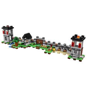 Minecraft A Fortaleza 795 Pçs Blocos De Montar Frete Grátis