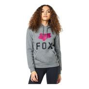 Sudadera Fox Enthusiast Mujer Grafito Casual Lifetyle