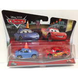 Cars! Con Cono Y Rayo Mcqueen, Mattel 105 Y0506