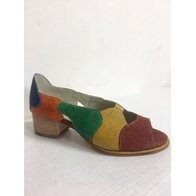 Zapato Mujer Cuero Números Grandes Y Chicos Lilian Kerr
