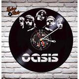 Reloj De Vinilo Retro Oasis