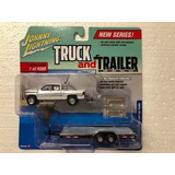 Johnny Lightning Truck And Trailer 1996 Dodge Ram 1/64 1:64