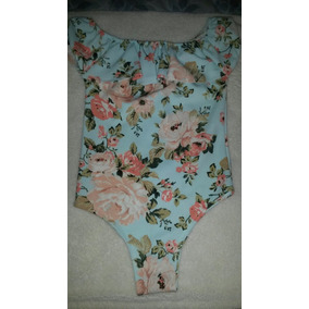 Body Floreado Talla Unica