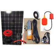 Kit Completo Bomba Sumergible Solar Bombeo Directo Hasta 20m