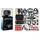 Camara Gopro Hero 5 Black Kit Accesorios Go Pro