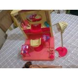 Salão De Beleza Da Barbie C/acessórios + 2 Barbies