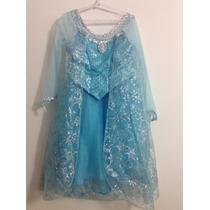 Vestido/disfraz Original Frozen/elsa Disney Store