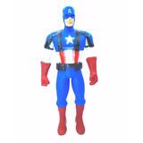 Capitan America Figura De Acción The Avengers Heroe 31cm