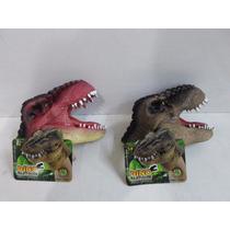 Dino Fantoche Dtc 2 Unidades - Fantoche De Mão Dinossauro.