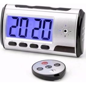 Camara Espia Oculta Alarma Reloj Despertador 32 - Te212