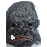 Mascara Gorila Macaco Dentuço Presas Festa Haloween