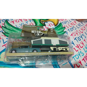 Ford F 150 And Pop Up Camper Trailer Greenligth H& Lyly Toys