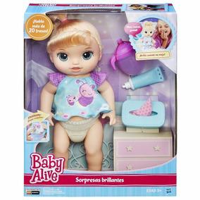 Boneca Baby Alive Fralda Mágica Loira Fraldinha Original