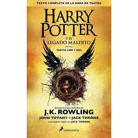 Libro Harry Potter And The Cursed Child En Español - Nuevo