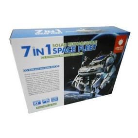 Juguete Robot Solar Space Flett Bricks 7 En 1