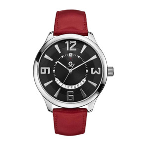 Reloj G By Guess Face Time G59021g4 Negro Caballero Envio Gr