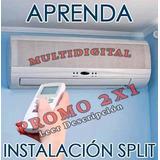 Aprenda Instalación Aire Acondicionado Split Refrigeración