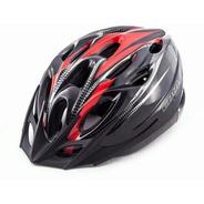 Casco Bicicleta Cool Rojo Negro Unisex Rcmdr