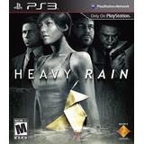 Heavin Rain Ps3 Fisico Original Claypole Juego Ps3