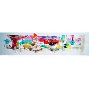 Pintura Sobre Lienzo Y Bastidor Moderno Acrílicos
