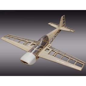Aeromodelo Extra 260 Kit Balsa Motor Elétrico Para Montagem