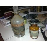 Antiguos Frascos De Farmacia Con Etiquetas Muy Buen Estado