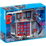 Playmobil 5981 Estación De Rescate Bomberos