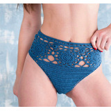 Calcinha Hot Pants Crochê Lindíssima Excelente Qualidade