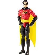 Boneco Liga Da Justiça Robin Unlimited Altura 30cm