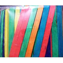 Palito De Madera Colores 150 Pzs