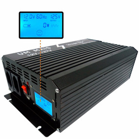 Inversor Conversor Senoidal Pura Lcd Digital 1000w 12v 110v