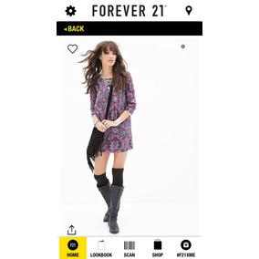 Forever 21 Vestido/túnica Estilo Bohemio Boho Tallas S Y M