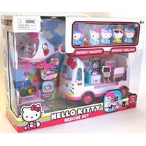 Hello Kitty Set De Ambulancia Y Helicóptero Envío Gratis