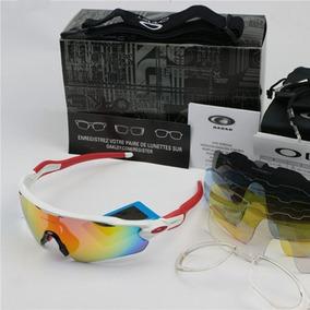 Kit Óculos Esportivo Vermelho (5 Lentes) - Óculos De Sol no Mercado ... 0920af7a6a