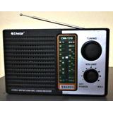 Radio Am Fm Funciona Com Pilhas Ou Na Tomada